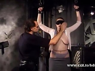 Pin and Whipping pain for slave Jane