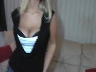 Sexy blonde counts you down to cum!!