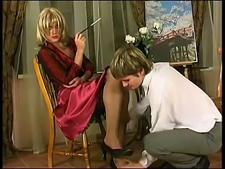 Russian crossdresser fucking