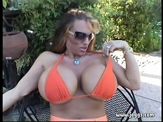 Lisa lipps orange bikini  free