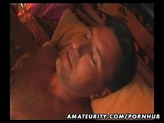 Chubby amateur Asian wife blowjob and fuck with cumshot