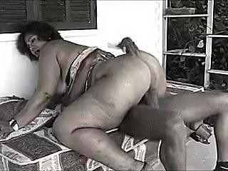 Vintage Huge Butt Granny