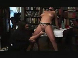 Spanked and pussy shocked  free