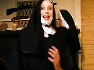 Nun fucked by two cowboys