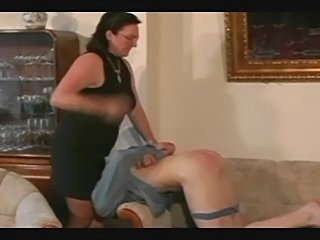 Granny Straps and Spanks the Boy pt3 - xHamster.com
