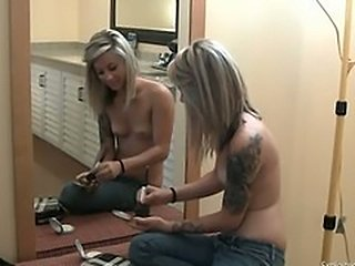 Punk Teen Fucked and Facialed