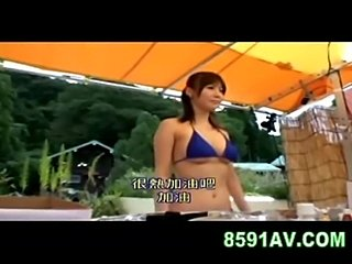 swimming pool bikini shop girl 05