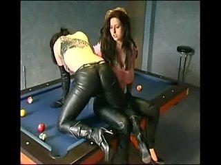 Lesbians leatherpants cumming mix 01  free