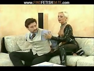Blond girl - handcuffs  free